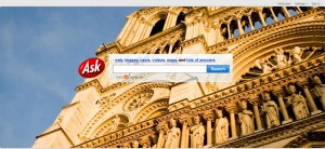 The interface of Ask.com is alluring, despite being a distant fourth in the search engine business -- if that.