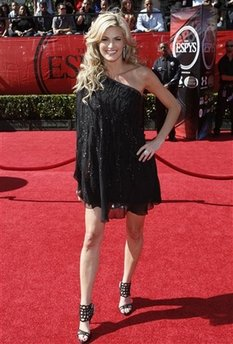 ESPN&#039;s Erin Andrews at the ESPY awards. (AP file photo)