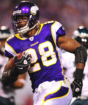 Adrian Peterson is my No. 1. I'm pretty sure it's a consensus.
