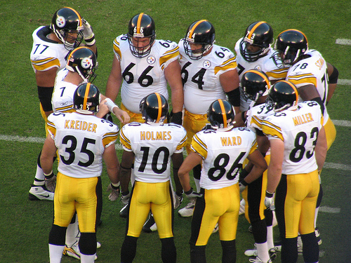 Ben Roethlisberger and the Pittsburgh Steelers are as solid as they come. Photo by Flickr user rionklong.