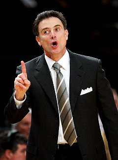 Rick Pitino's affair is gone into a bizarre zone. So much so, I don't know what to say about it.