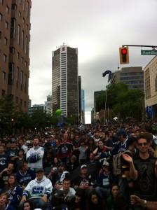 Vancouver crowd